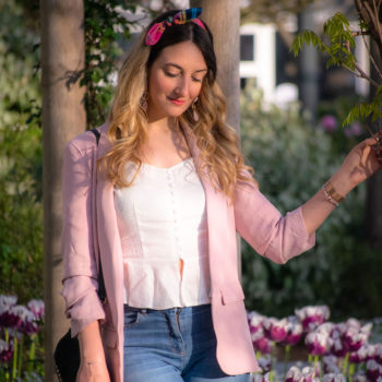 Look Bandeau Lili - Madras Rose