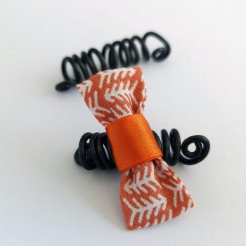 Bague Sésé - Graphique Orange