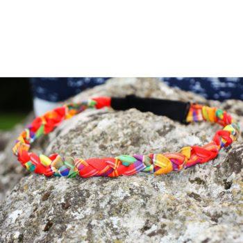 Headband Cyn - Madras Rouge