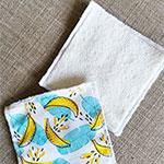 Lingettes lavables - Zéro déchet