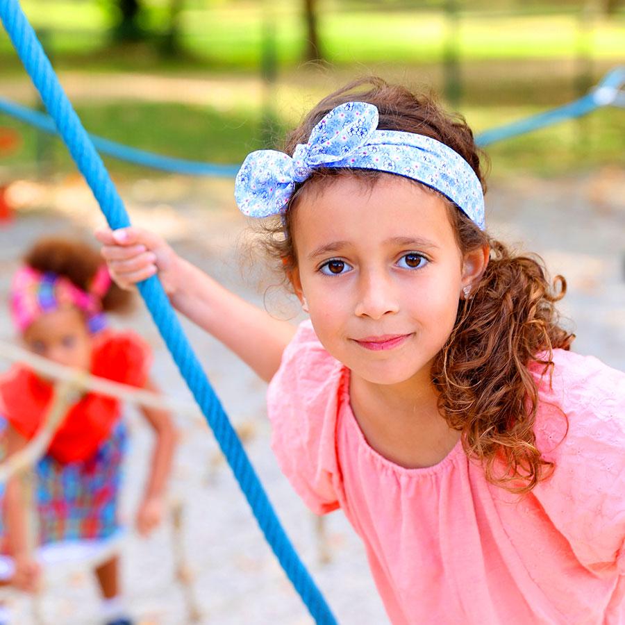 Bandeau Lili Enfant - Liberty Bleu